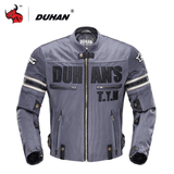 Duhan Motorcycle Jacket Blue / M DUHAN D-103 Summer Motorcycle Jacket