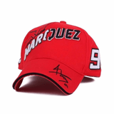 FirstGearMoto cap red2 / adjustable Marc Marquez MM93 baseball hat cap 93 Ant MM men women unisex MotoGP caps