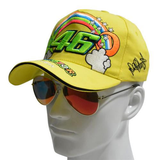Valentino Rossi VR46 baseball hat cap 46 black rainbow men women unisex MotoGP caps