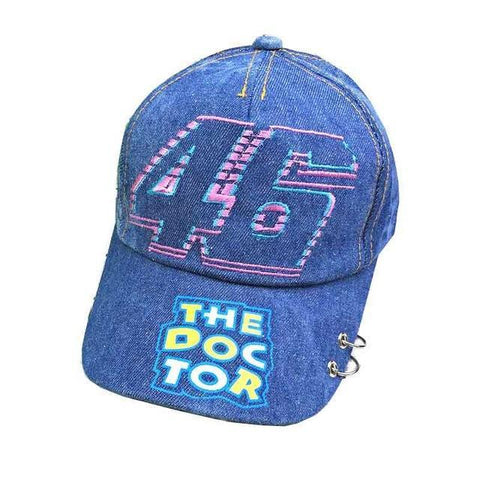 Valentino Rossi VR46 baseball hat cap water wash 46 men women unisex MotoGP caps