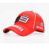 FirstGearMoto caps red 99 Yamaha Valentino Rossi 99 baseball hat cap 99 black men women unisex MotoGP caps