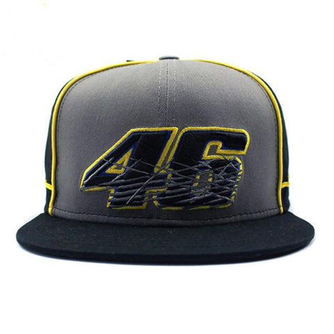 Valentino Rossi VR46 baseball hat cap 46 yellow rainbow men women unisex MotoGP caps