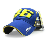 FirstGearMoto caps Yamaha Team Paddock Valentino Rossi VR46 baseball hat cap 46 men women unisex MotoGP caps