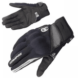 FirstGearMoto Gloves Black / M Komine GK 163 Motorcycle Gloves
