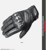 FirstGearMoto Gloves Black / M KOMINE GK 167 Gloves