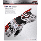 Five RFX1 Motorcycle Long Leather Gloves