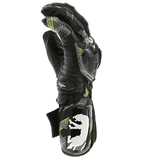 FirstGearMoto Gloves Green / M Furygan Motocross Leather Gloves
