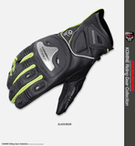 FirstGearMoto Gloves Green / M KOMINE GK 170 Motorcycle Gloves