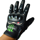 Monster Energy Off Road Motorcycle Riding Armor Gloves