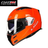 FirstGearMoto Gloves orange / L LS2 FF324 Metro Rapid Helmet