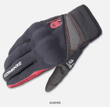 FirstGearMoto Gloves Red / M Komine GK 163 Motorcycle Gloves