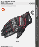 FirstGearMoto Gloves Red / M KOMINE GK 167 Gloves