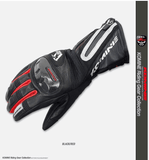 FirstGearMoto Gloves Red / M KOMINE GK 795 Motorcycle Gloves