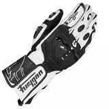 FirstGearMoto Gloves White / M Furygan Motocross Leather Gloves
