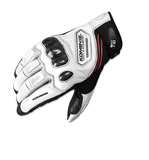 FirstGearMoto Gloves White / M KOMINE GK 167 Gloves