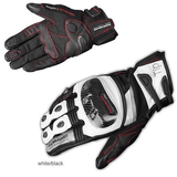 FirstGearMoto Gloves White / M KOMINE GK 193 Motorcycle Gloves