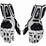 FirstGearMoto Gloves White / XL Furygan AFS 10 Leather Gloves
