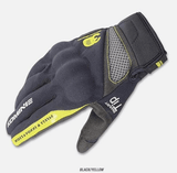 FirstGearMoto Gloves Yellow / M Komine GK 163 Motorcycle Gloves