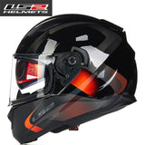 FirstGearMoto Helmets 1 / L LS2 FF328 Stream Anti-Hero Helmet