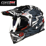 FirstGearMoto Helmets Gray power / L LS2 MX 436 Pioneer Trigger Helmet