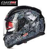 FirstGearMoto Helmets LS2 FF328 Stream Anti-Hero Helmet