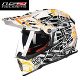 FirstGearMoto Helmets Orange Power / L LS2 MX 436 Pioneer Trigger Helmet