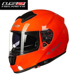 FirstGearMoto Helmets Orange / XL LS2 FF397 Citation Helmet