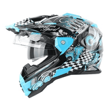 THH TX-27 Dual Sports Motorcycle Full Face Helmet