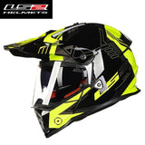 FirstGearMoto Helmets Yellow Aim War / L LS2 MX 436 Pioneer Trigger Helmet