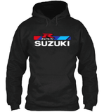 FirstGearMoto Hoodies Black / S Suzuki GSX-R Motorcycle Racing Hoodie 2018