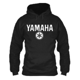 FirstGearMoto Hoodies Black / S YAMAHA Motorcycle Racing Hoodie 2015
