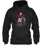 FirstGearMoto Hoodies Black / S YAMAHA R1 Motogp Hoodie Fleece Official 2015