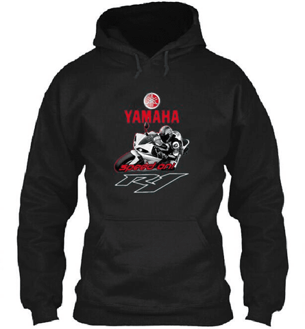 YAMAHA R1 Motogp Hoodie Fleece Official 2015