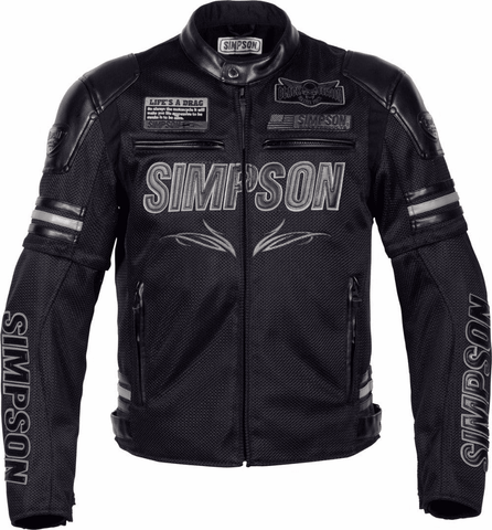 Simpson Summer Motorcycle Jacket