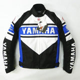 FirstGearMoto Jackets Blue / M Yamaha Motorcycle jacket