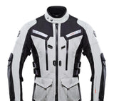 FirstGearMoto Jackets Gray / M DUHAN Motorcycle Jacket
