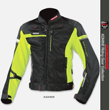 FirstGearMoto Jackets Green / S KOMINE JK-044 Titanium Mesh Jacket R-Spec