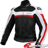 Komine Jacket JK-021 Leather M-JKT Titanite II
