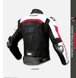 FirstGearMoto Jackets Komine Jacket JK-021 Leather M-JKT Titanite II