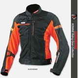 FirstGearMoto Jackets Orange / S KOMINE JK-044 Titanium Mesh Jacket R-Spec