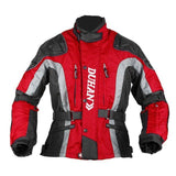 FirstGearMoto Jackets Red / M DUHAN Oxford Motorcycle Jacket