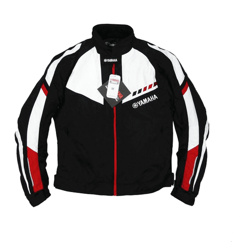 YAMAHA Textile Motorcycle Racing Jacket With Protective Gear
