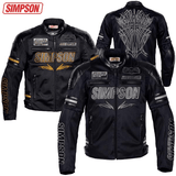 FirstGearMoto Jackets SIMPSON SUMMER Motorcycle  JACKET
