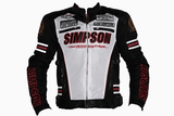 FirstGearMoto Jackets White / M Simpson 55th Anniversary Memory edition Jacket