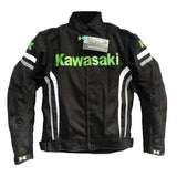 Kawasaki Textile Windproof Motorcycle Jacket