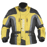 FirstGearMoto Jackets Yellow / M DUHAN Oxford Motorcycle Jacket