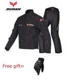 FirstGearMoto Motorcycle Jacket black suits / M DUHAN Motorcycle Jacket Suit