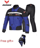 FirstGearMoto Motorcycle Jacket blue suits / M DUHAN Motorcycle Jacket Suit