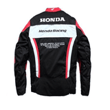 FirstGearMoto Motorcycle Jacket Honda Collection Super Sport Textile Jacket