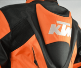 FirstGearMoto Motorcycle Jacket KTM Textile Jacket Motorcycle Riding Armor Protective